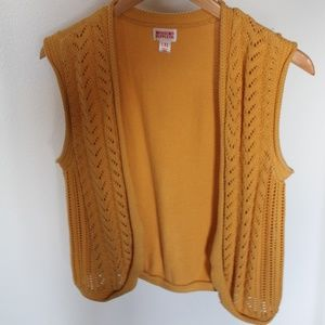 Mossimo Supply Co Knit Cozy Sweater Vest